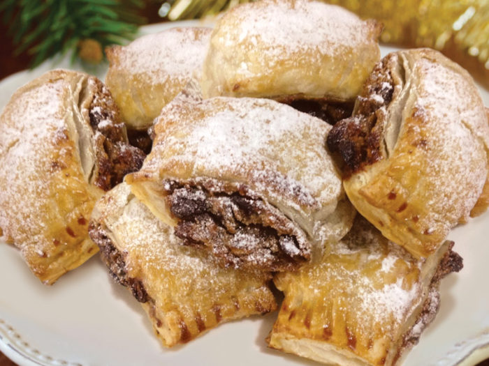 PUFF PASTRY MINCE ROLLS
