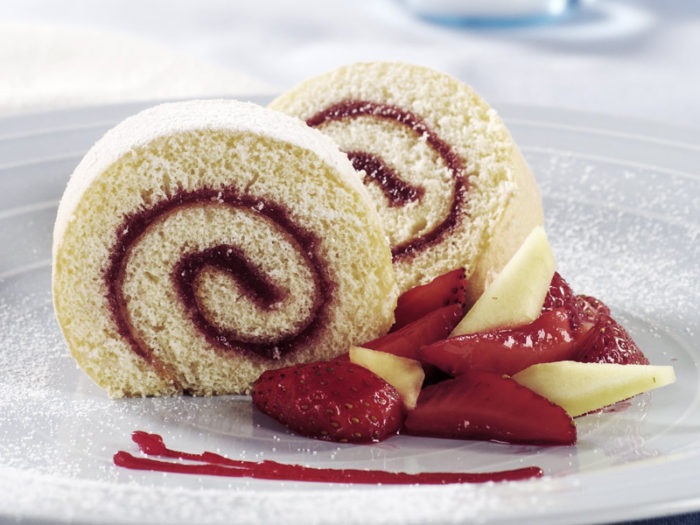 VANILLA SWISS ROLL