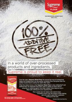 100 % ADDITIVE FREE SUPREME FLOUR