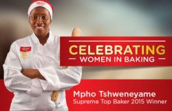 Top Baker Winner:  Mpho Tshweneyame