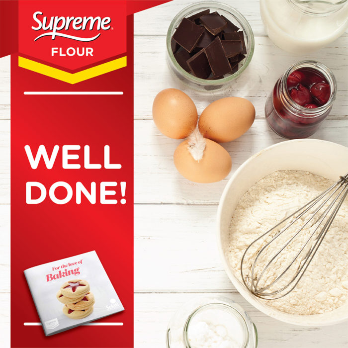 For the Love of Baking' Supreme Recipe Book Competition